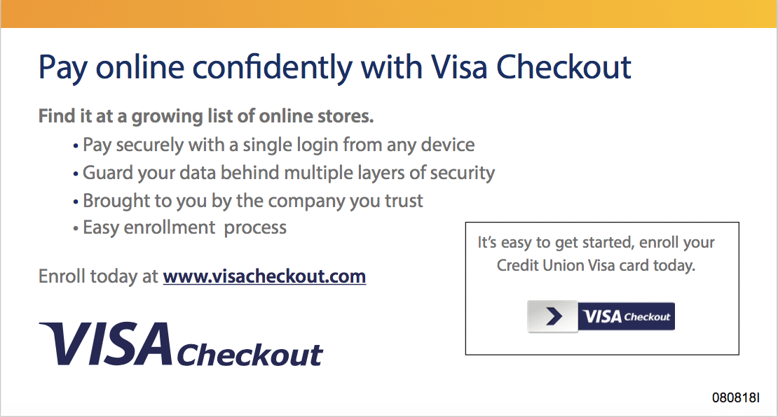 Siue CU Visa Checkout 2