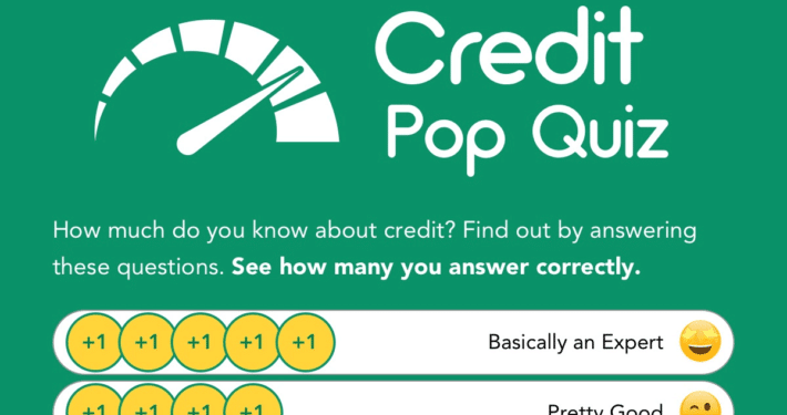 SIUE Credit Union - Credit Pop Quiz